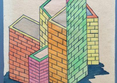 1963 > erste neue Wege und Basis für die Serie Antiarchitektur