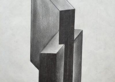 1980 > erster Versuch zur Serie Antiarchitektur