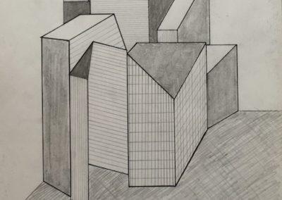 Entwurf zur Serie Antiarchitektur