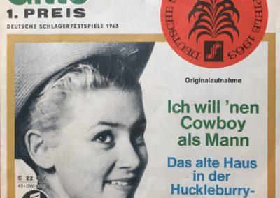 1963 > noch Inspiriert durch Gitte Henning